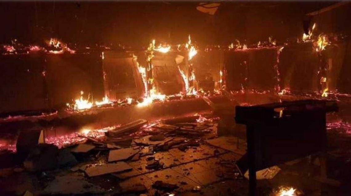 Onda de ataques de janeiro de 2019: facções se uniram contra o Estado (Foto: Mateus Dantas, em 4 de janeiro de 2019)