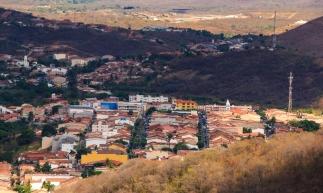 BATURITE, CE, BRASIL, 15-10-2019: Vista aerea de Baturite. Expedição Borboletas. . (Foto: Aurelio Alves/O POVO)