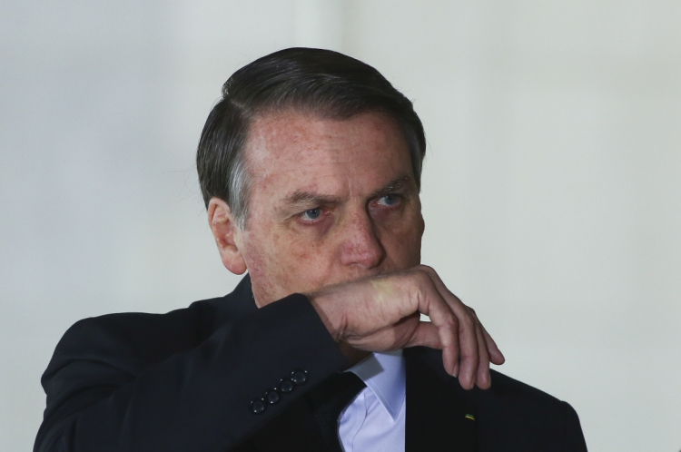 Presidente do Brasil, Jair Bolsonaro. (Foto: Sergio LIMA / AFP)