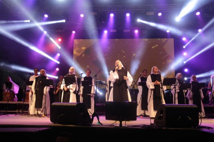 Show da Irmã Kelly Patrícia na primeira noite do Natal de Todos