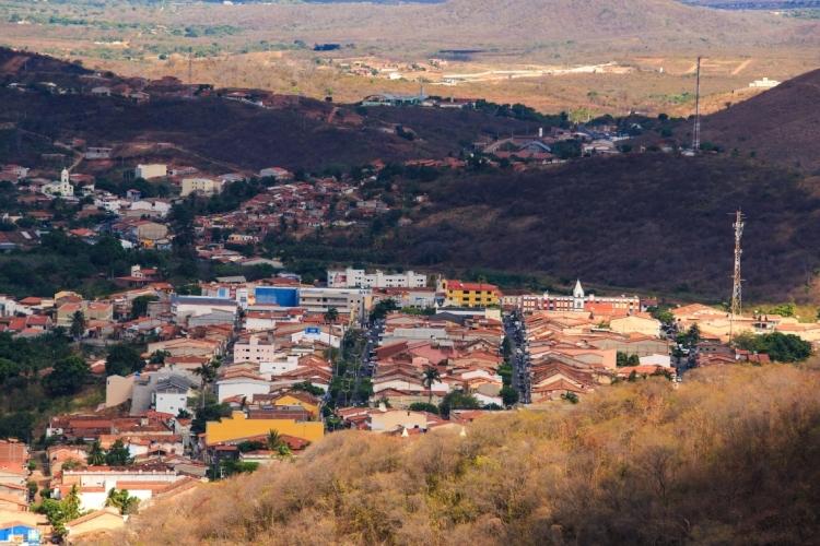 Baturité vista da serra (Foto: Aurélio Alves/O POVO)