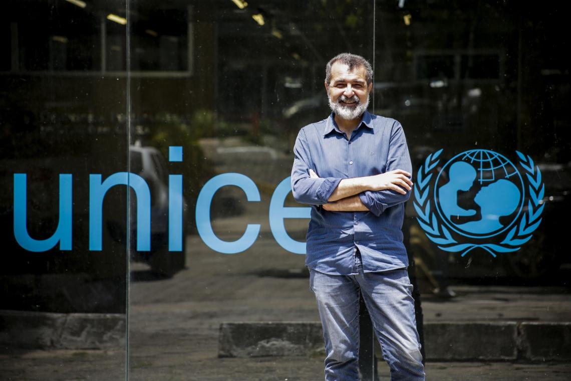 FORTALEZA, CE, BRASIL, 20-12-2019: Entrevista com  Rui Aguiar do Unicef..(Foto: Thais Mesquita/O POVO)