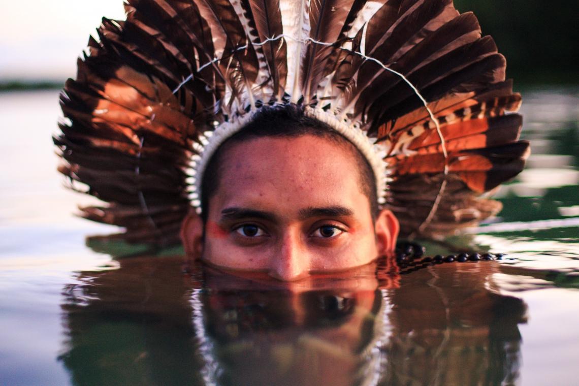 ITAPIPOCA, CE, BRASIL, 06-11-2019: Expedição Borboletas. Ezequiel Tremembé. Indio da Tribo Tremembé .(Foto: Aurelio Alves/O POVO)