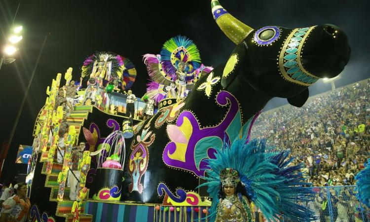 Desfile da União da Ilha do Governador, na Sapucaí carioca, homenageou o artista durante o carnaval de 2019