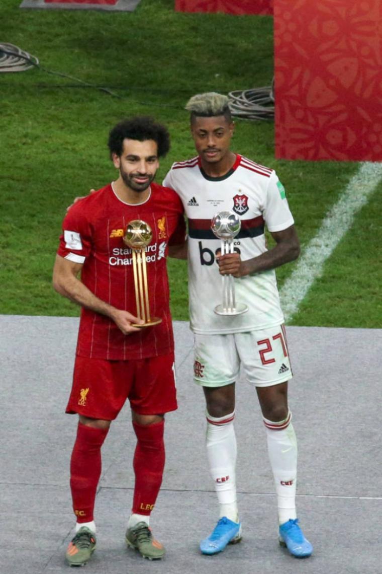 Salah não deu uma assistência no Mundial