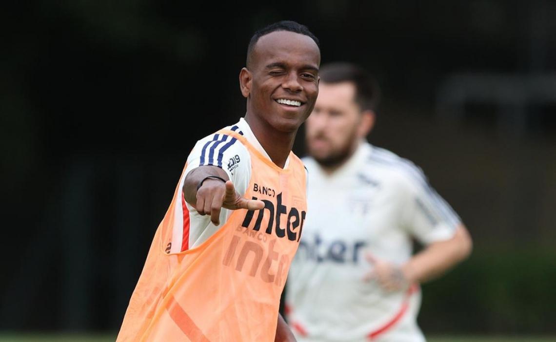 Helinho foi utilizado em 20 partidas na temporada 2019