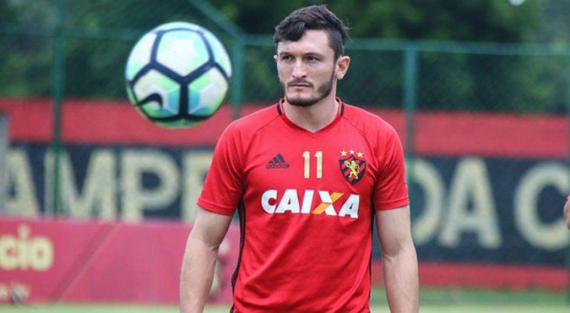 Sander está no Sport desde 2017 e despertou o interesse do Ceará