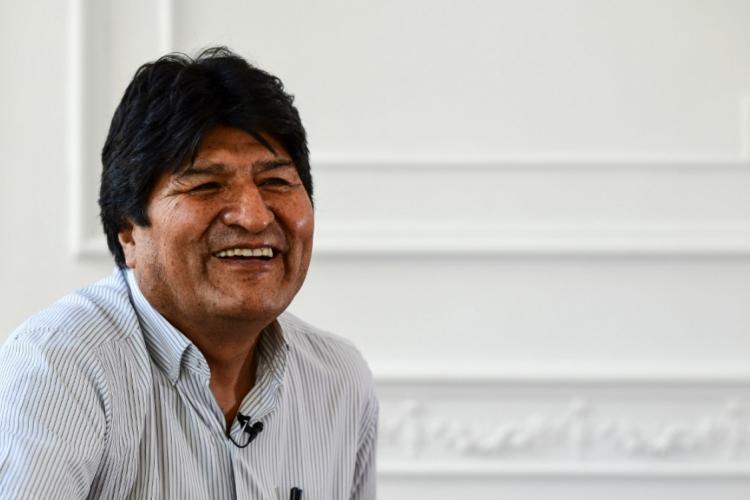 Evo Morales, ex-presidente da Bolívia (Foto: Ronaldo Schemidt / AFP)