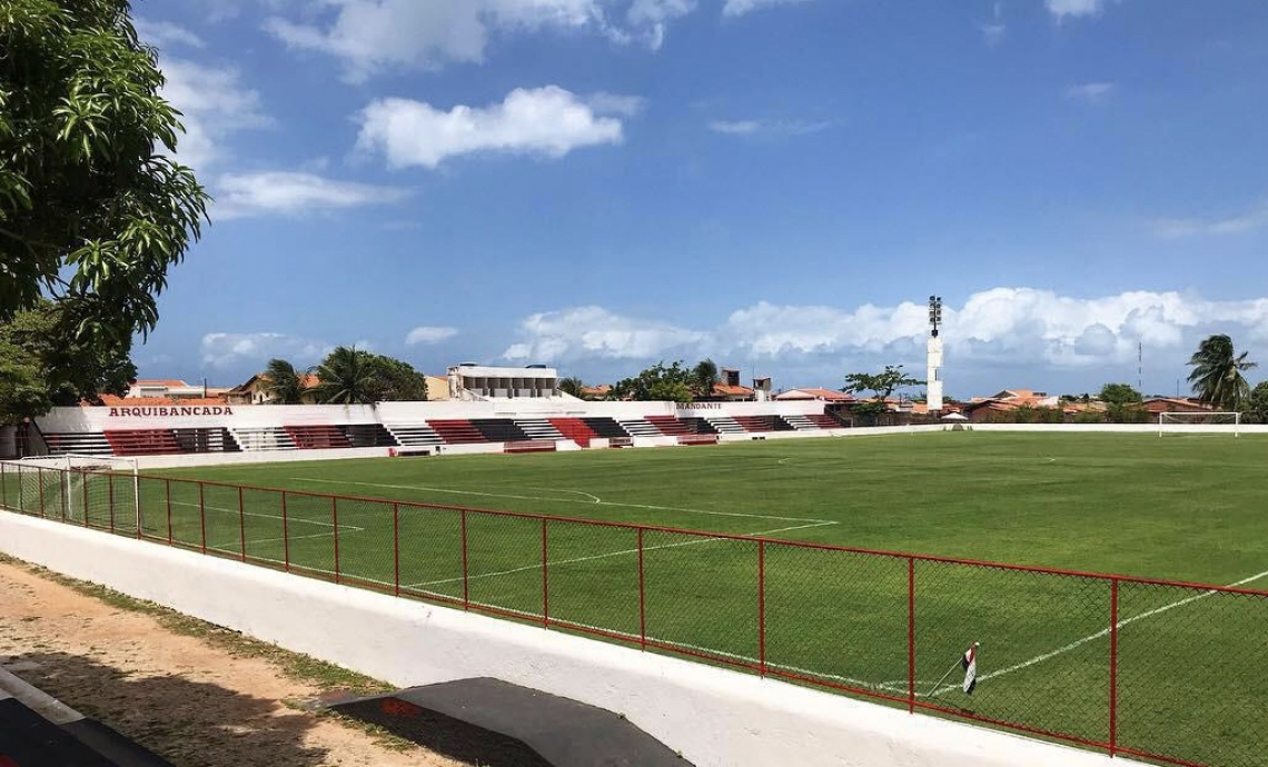 Estádio Elzir Cabral está sem receber atividades porque o elenco coral está em quarentena