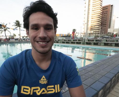 Radicado no Ceará, nadador Luiz Altamir garante vaga na Olimpíada de Tóquio-2020