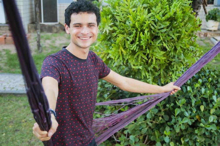 O youtuber cearense Max Petterson é um dos convidados do Viradão da Juventude 2020 (Foto: JÚLIO CAESAR)