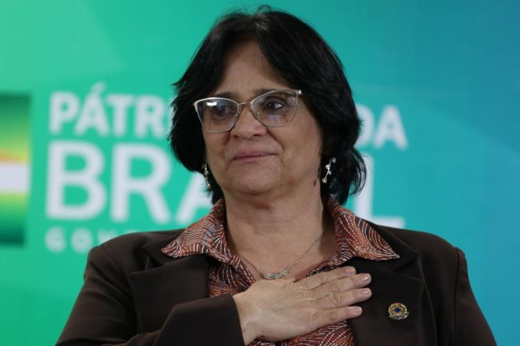 A ministra da Mulher, da Família e dos Direitos Humanos, Damares Alves (Foto: Fabio Rodrigues Pozzebom/Agência Brasil)