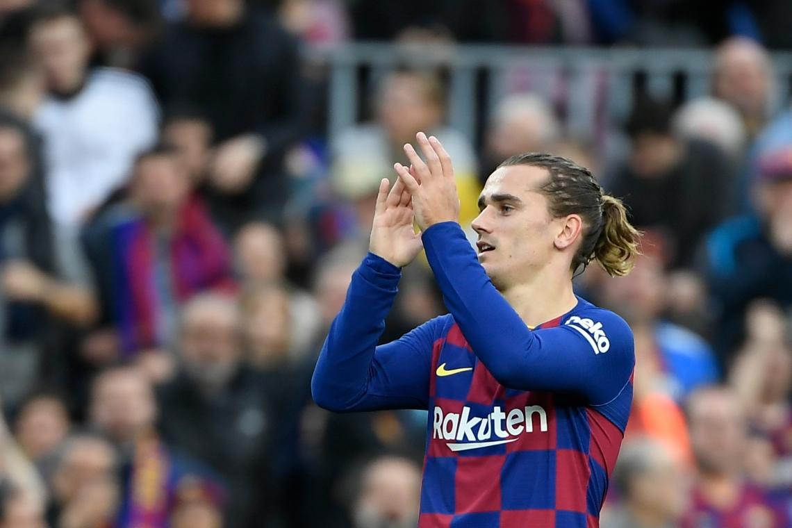 O atacante do time do Barcelona e da Seleção Francesa, Antoine Griezmann