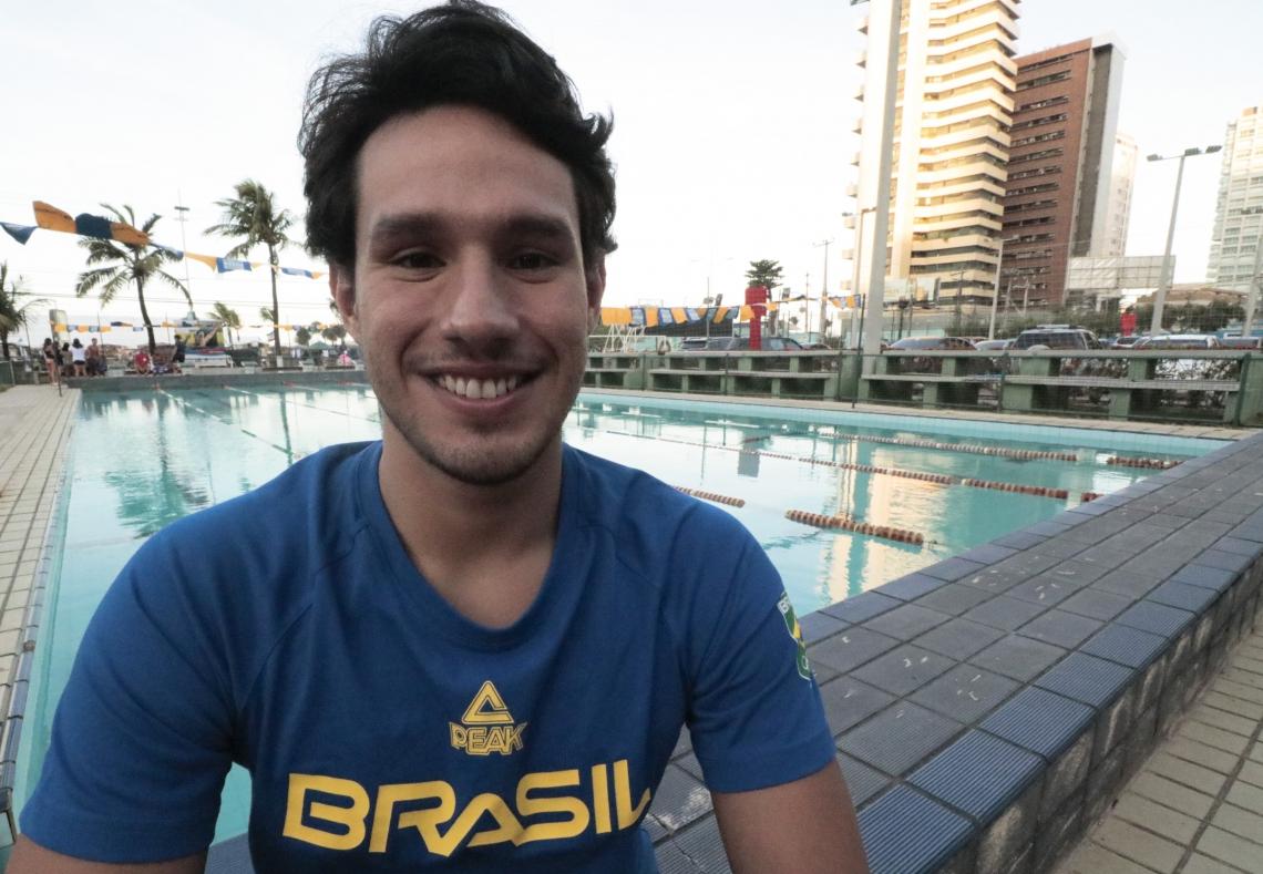 Luiz Altamir vai defender o Brasil no revezamento 4x200m nos Jogos Olímpicos