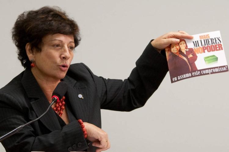 Ex-ministra esteve à frente da Secretária de Políticas para as Mulheres durante governo Lula