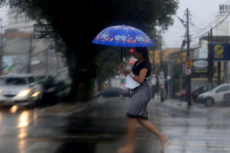 No mês passado, foram contabilizados 63.9% de chuva a menos que a média