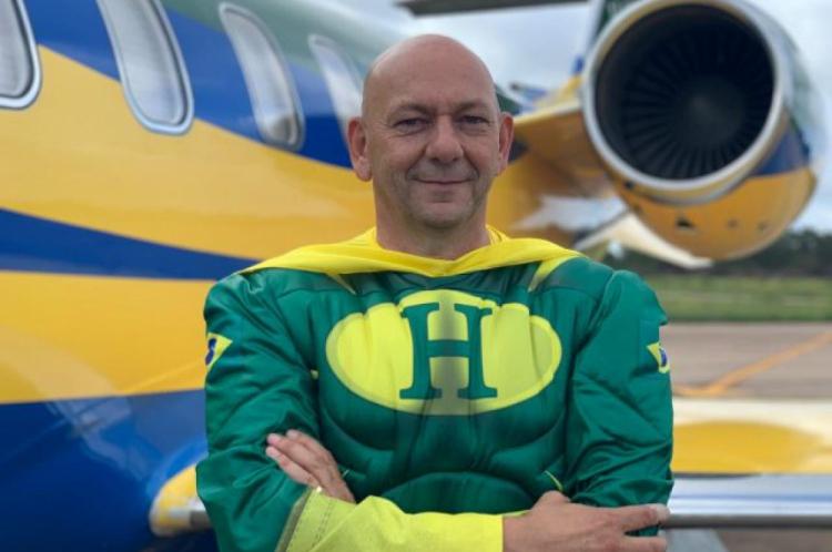 Luciano Hang havia anunciado que patrocinaria aviões que levassem