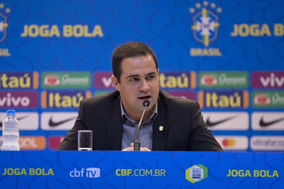 Jardine terá a missão de levar o Brasil até aos Jogos Olímpicos
