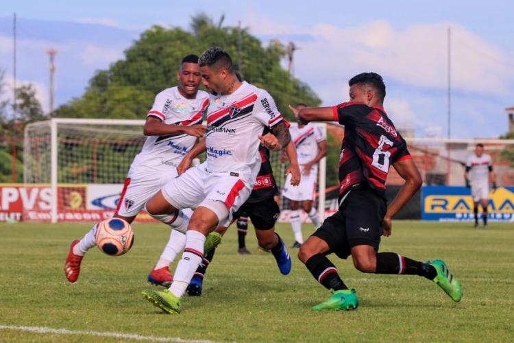 Ferroviário e Atlético Cearense se enfrentaram pela primeira rodada do Campeonato Cearense 2020 (Foto: Xandy Rodrigues/ FAC)