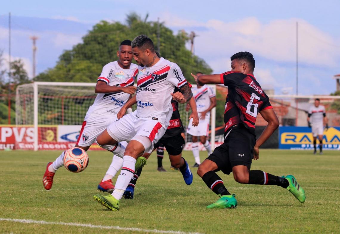 Ferroviário e Atlético Cearense se enfrentaram pela primeira rodada do Campeonato Cearense 2020