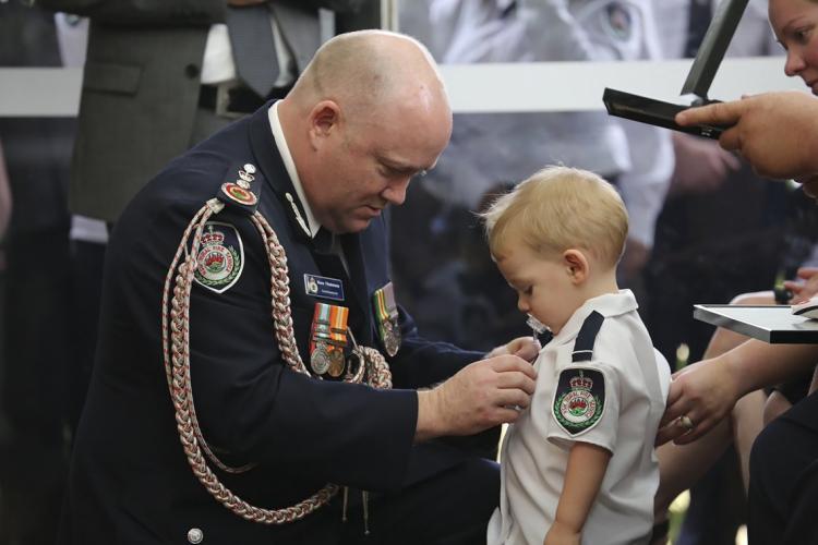 A homenagem ocorreu no dia 2 de janeiro (Foto: AFP)