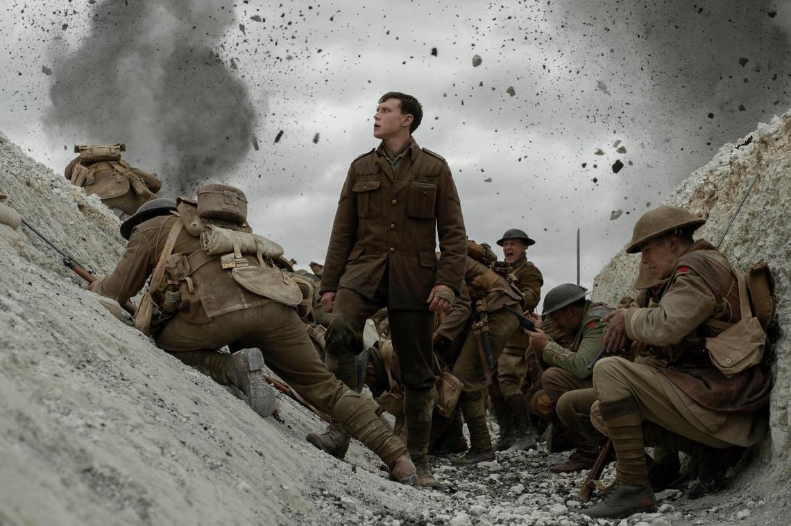 Longa dirigido por Sam Mendes que conta história da Primeira Guerra Mundial,