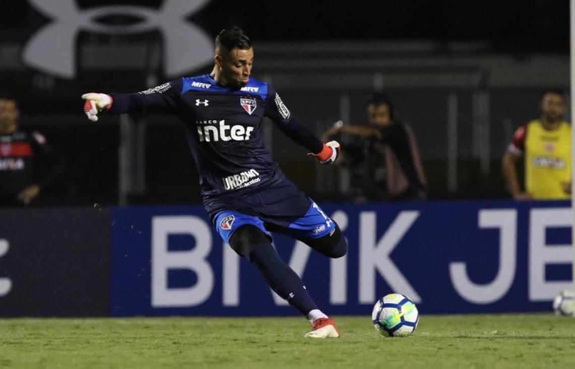 Goleiro Jean tem contrato até 2022; Tricolor Paulista estuda rompimento de contrato após o jogador ser acusado de agressão