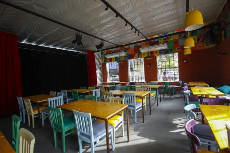 Bar localizado no bairro Aldeota, em Fortaleza  (Foto: Beatriz Boblitz)