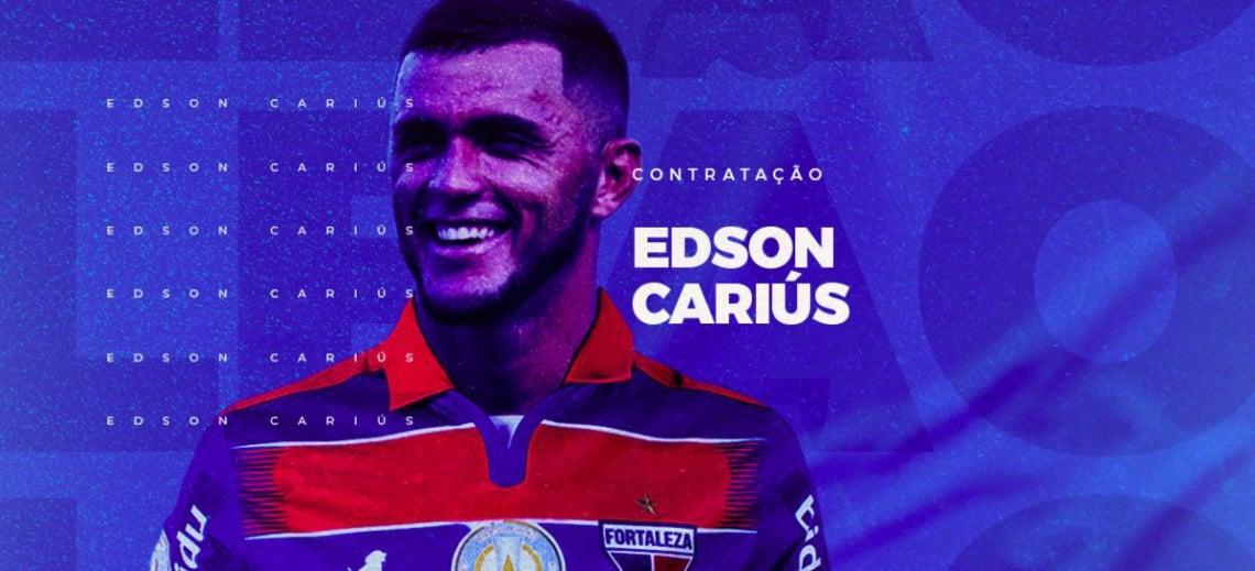 Edson Cariús teve seu acerto com o Leão oficializado nesta terça-feira