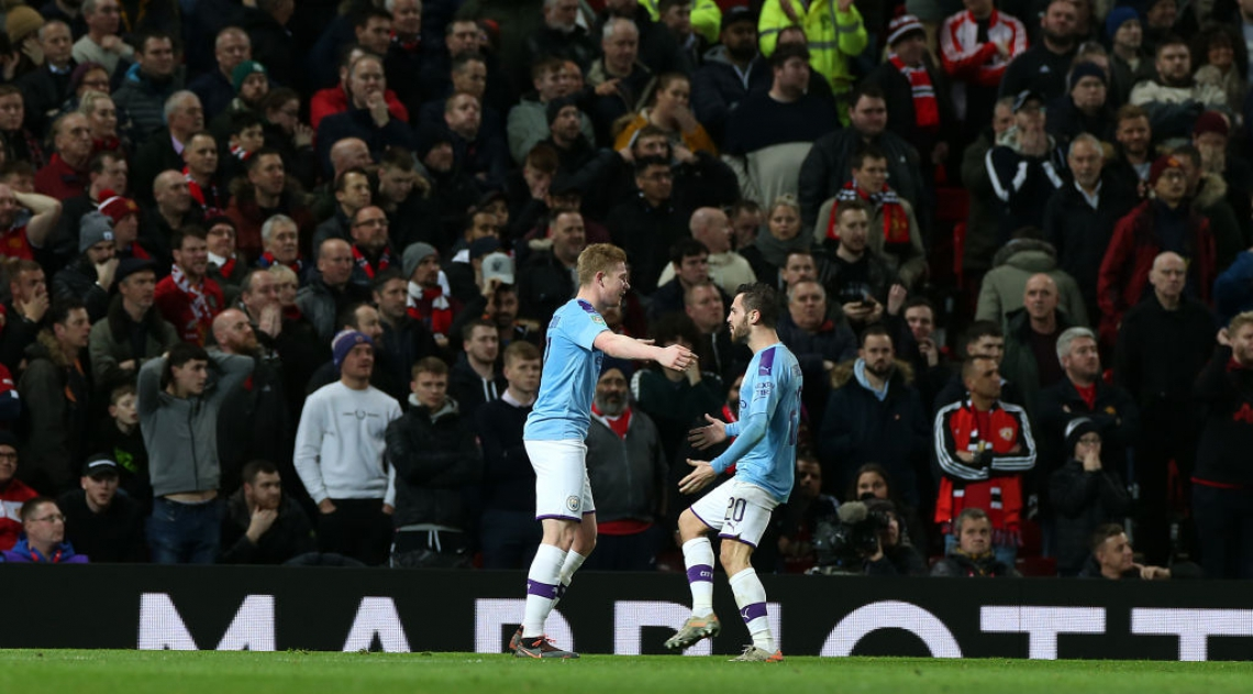 Todos os gols do City foram marcados ainda no primeiro tempo