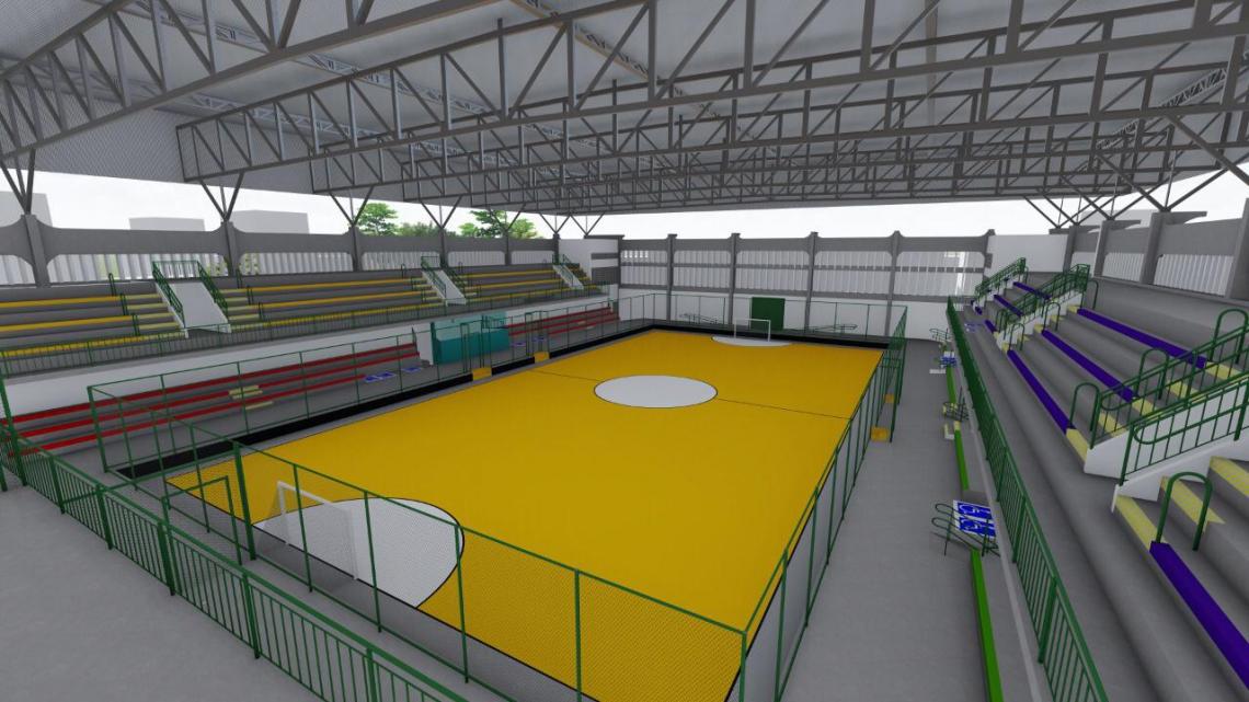 Ginásio Aécio de Borba será reformado, conforme anúncio da Prefeitura de Fortaleza. Imagem ilustra expectativa após obras