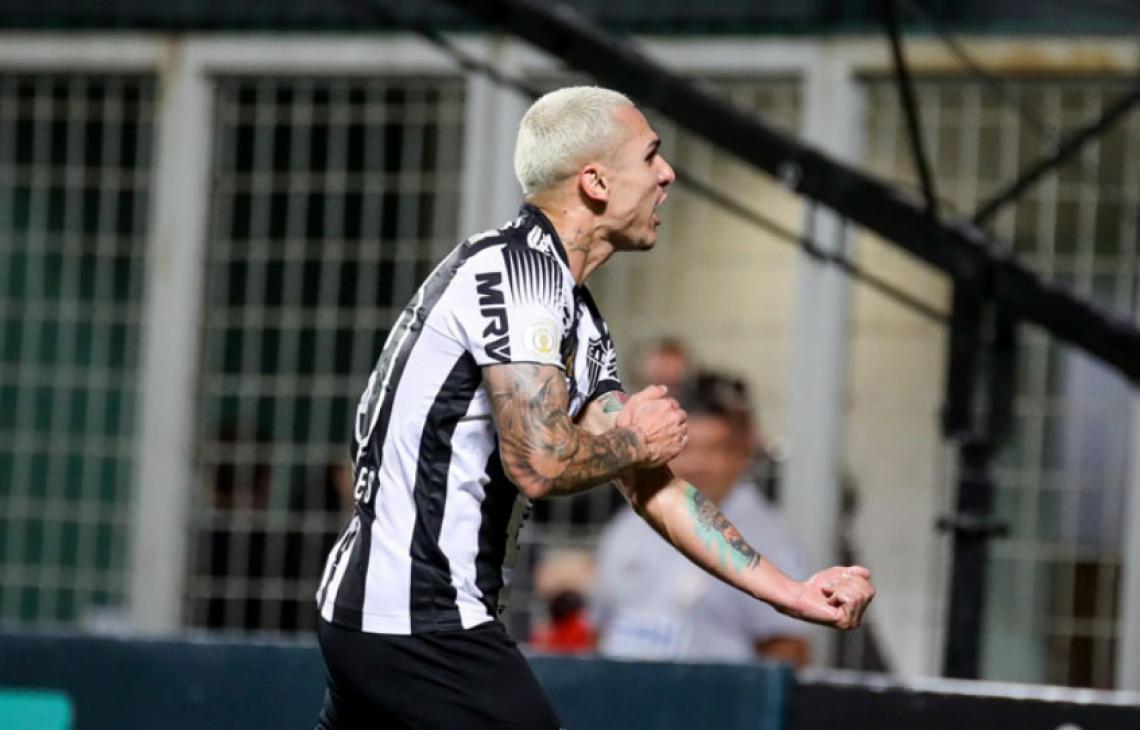 Meia Vinícius defendeu o Atlético-MG em 2019