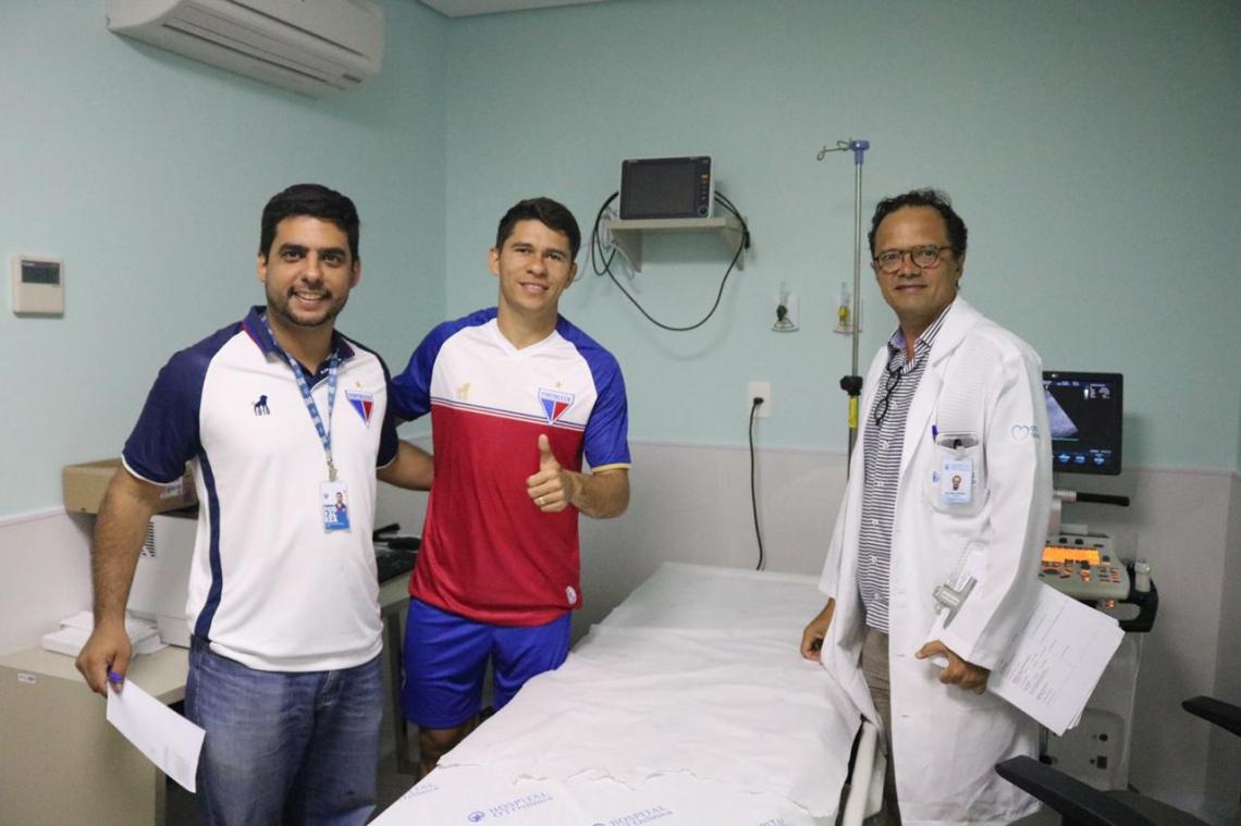 Osvaldo foi um dos que participou do primeiro grupo de jogadores examinados