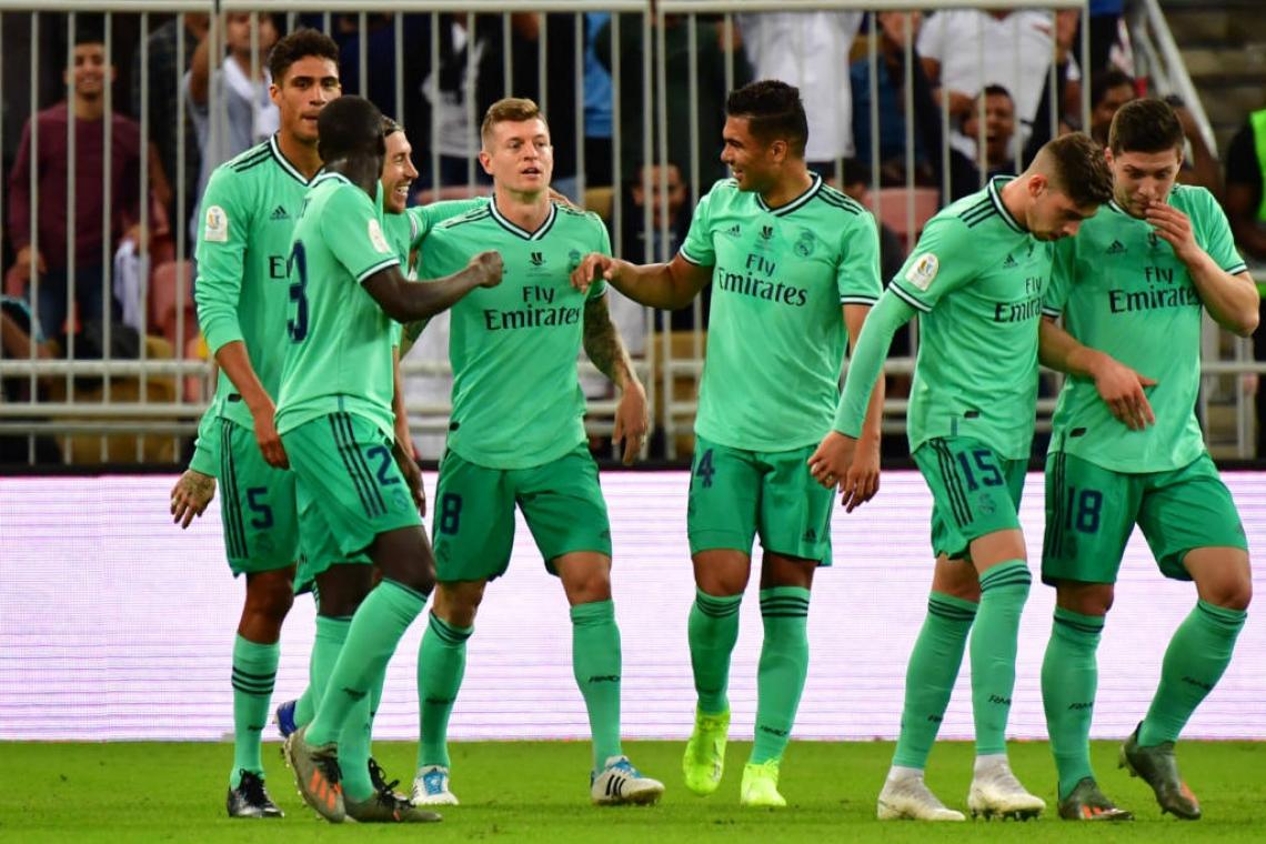 Real Madrid enfrenta vencedor de Barcelona e Atlético de Madrid na decisão