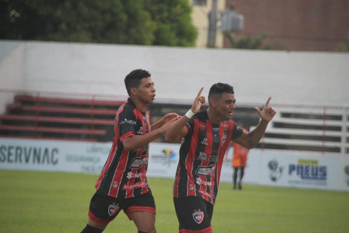 Pela segunda rodada do Campeonato Cearense 2020, Caucaia e Floresta se enfrentaram no Elzir Cabral