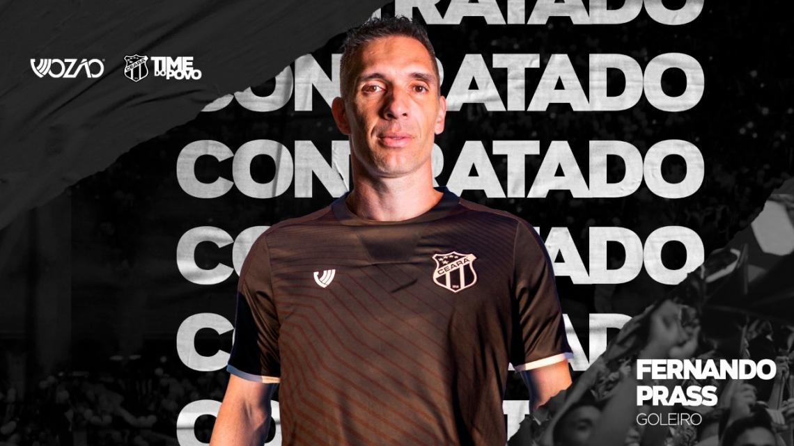 O goleiro gaúcho anteriormente estava no Palmeiras, desde a temporada de 2013