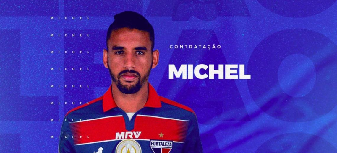 Michel atuou pelo Grêmio nas últimas três temporadas