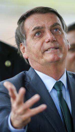 Jair Bolsonaro (Photo by Sergio LIMA / AFP) (Foto: Sergio LIMA / AFP)