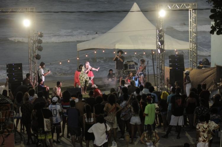 FORTALEZA, CE, BRASIL, 11-01-2020: Festival Slam Laje + Slam Sereno de Verão  Praia do Leste (Sandro Valentim/O POVO)