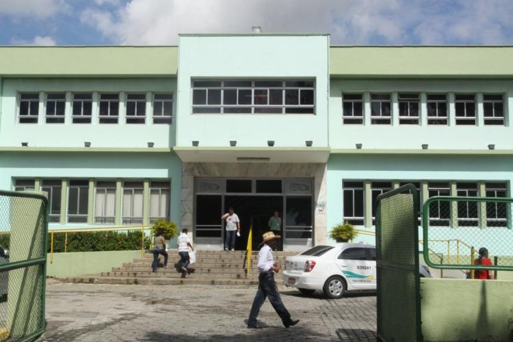Fachada do Hospital de Messejana Doutor Carlos Alberto Studart Gomes (Foto: Mauri Melo)