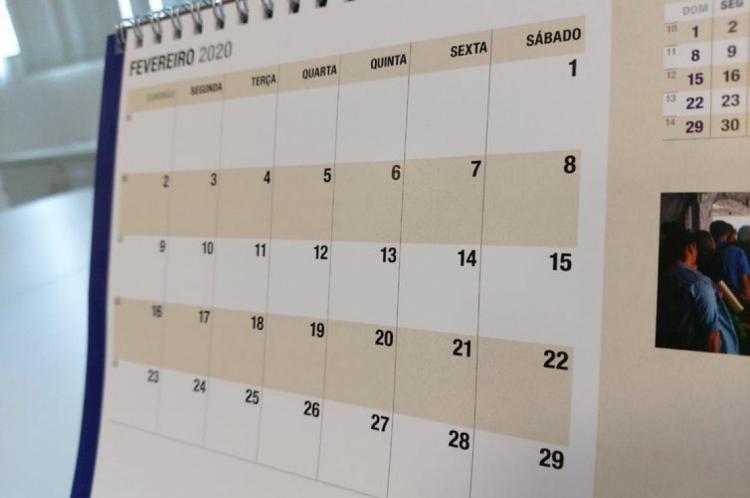 O feriado será na terça-feira, 21