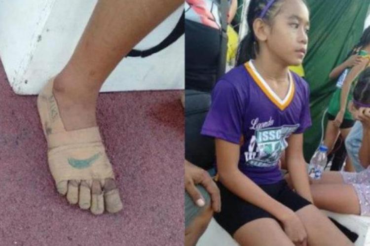 A Nike tomou conhecimento do caso e também entrou na campanha para ajudar ao grupo de atletas das Filipinas.