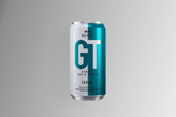Sabor Gim Tônica da marca de cerveja Skol Beats - Lançamento 2020