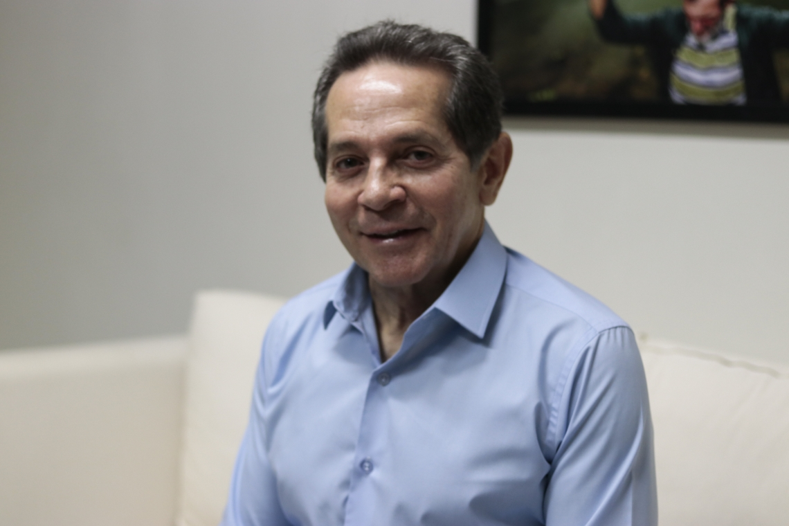HEITOR Férrer abriu série de entrevistas com pré-candidato à Prefeitura de Fortaleza