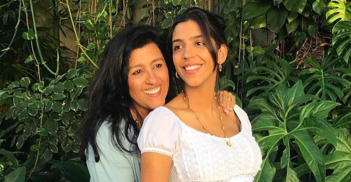 A atriz e a filha desfrutaram de um dia inteiro longe da rotina das gravações