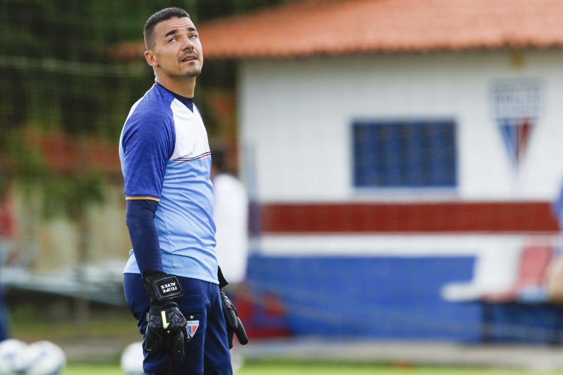 Felipe Alves disse preferir os jogos aos treinos