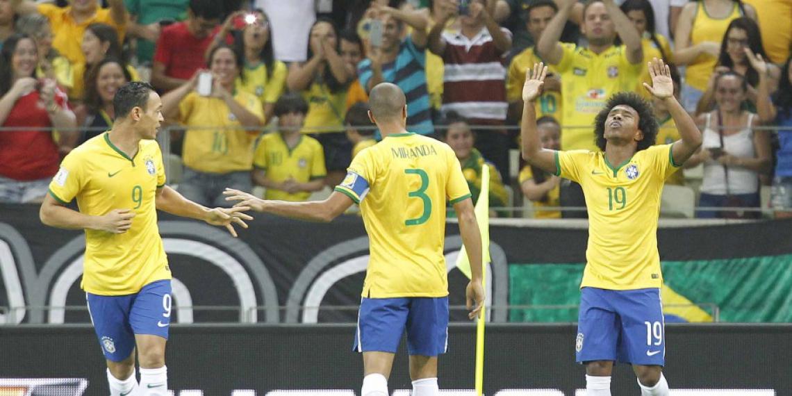 Nas eliminatórias da Copa passada, a Arena Castelão, em Fortaleza, foi palco do jogo entre Brasil e Venezuela.