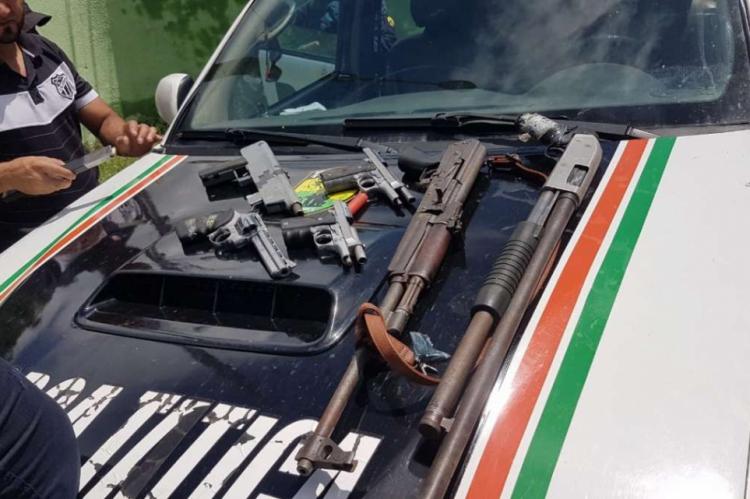 Três suspeitos morrem e outros três são presos durante confronto com a polícia em Guaiúba