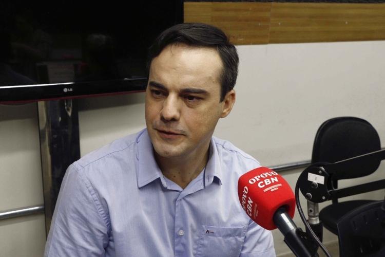 Capitão Wagner, deputado federal e pré-candidato a prefeito (Foto: Mauri Melo/O POVO). (Foto: MAURI MELO/O POVO)