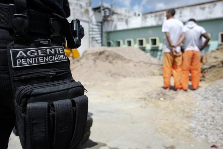 Trabalho dos profissionais de segurança não se limita ao interior de presídios (Foto: Divulgação/Governo do Estado/Davi Pinheiro)